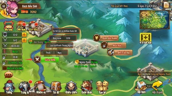 Tìm hiểu về Cứ Điểm Quốc Chiến trong Tam Quốc GO - ảnh 3