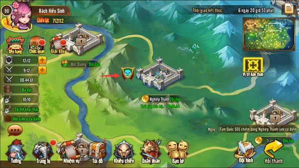 Tìm hiểu về Cứ Điểm Quốc Chiến trong Tam Quốc GO - ảnh 4