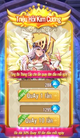 Vua Triệu Hồi - Hướng dẫn triệu hồi tướng 3